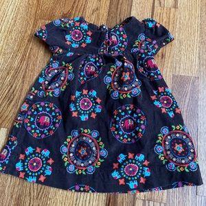 Baby Gap 6-12 Months Brown Corduroy Dress